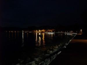 Passeggiata notturna per Bardolino
