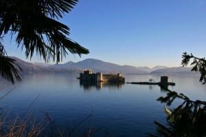 Veduta del castello di Cannero