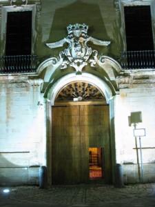 portale del marchesale granafei Sternatia (LE)