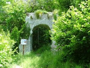 Mura del castello medioevale