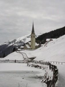 La frazione di Valdurna, in Val Sarentino