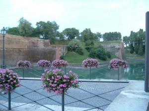 veduta bastioni dal ponte di porte Brescia