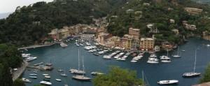 Panoramica di Portofino