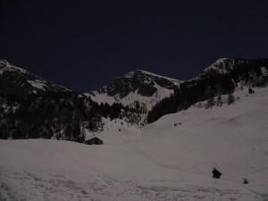 casera palantina in luna piena