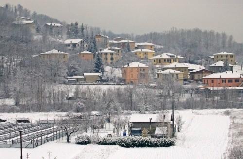 Cengio - Inverno delicato, con il bianco e i colori pastello