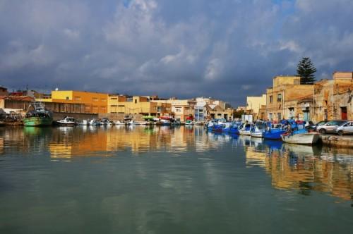 Mazara del Vallo - il porto canale