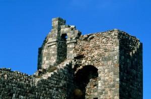 Tratto di mura con torre