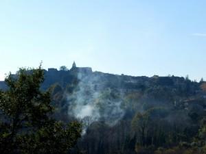 Fumo e luce a Teanum Sidicinum
