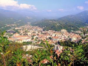 Panorama di Borgosesia