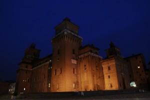 Castello estense : l'ora blu