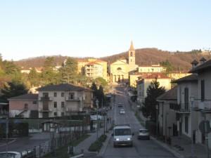 Viale d'ingresso a Missaglia