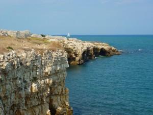 Veduta delle Grotte di Ripalta