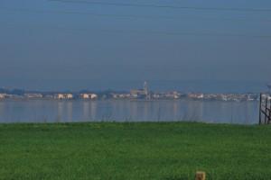 Santa Giusta (OR) - Vista dallo stagno