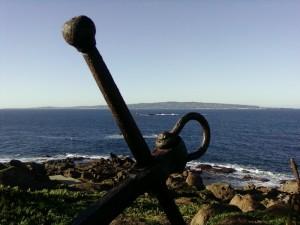 …e in lontananza..l'isola di Carloforte