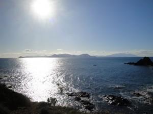 Elba e Corsica da Punta Falcone