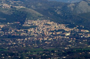 Palestrina vista Rocca priora