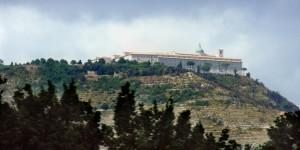 L'abbazia di Montecassino vista dal pullman