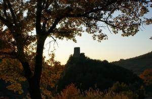 Salisano, la Rocca Baldesca