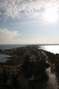 panorama sulla penisola di Sirmione