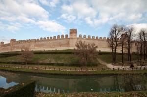 Cittadella - Le mura medievali (Angolo Sud)