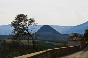 San Leo panoramica dall'alto
