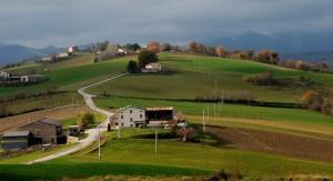 Sant'Angelo in Pontano- Guardando ad est