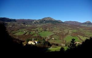 Panorama di Castro S.Martino Firenzuola