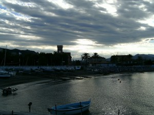 le nuvole su Albenga