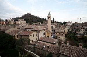 Asolo - Vista dal Castello e Rocca (in alto)