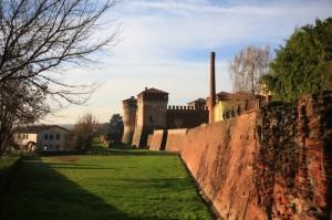 La cinta muraria e il castello