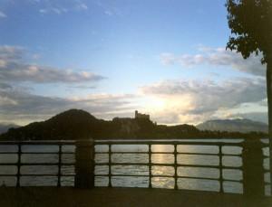 …lago Maggiore…la Rocca di Angera