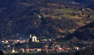 La chiesa e il paese