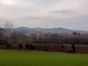 Panorama di Agazzano