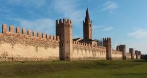 Montagnana - Le mura medievali - Mura Sud 1