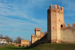 Montagnana - Mura sud e Porta Legnago