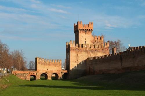 Montagnana - Montagnana- Porta Legnago e Rocca degli Alberi