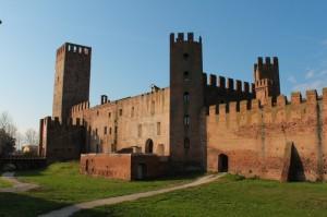 Montagnana - Il Castello visto da fuori le mura