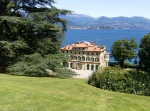 Il lago Maggiore visto da villa Pallacino