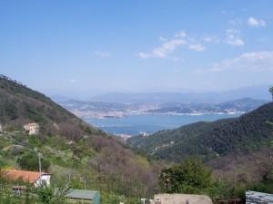Vista del golfo di La Spezia