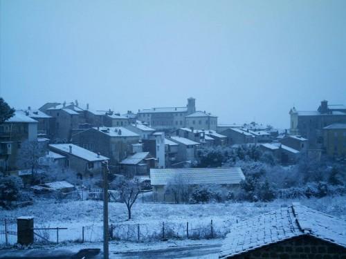 Oriolo Romano - Silenziosa nevicata