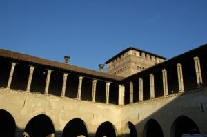 Loggia del Castello di Pandino