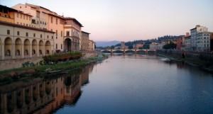Tramonto Fiorentino lungo l'Arno