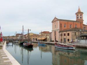 Cesenatico ed il museo della marineria.