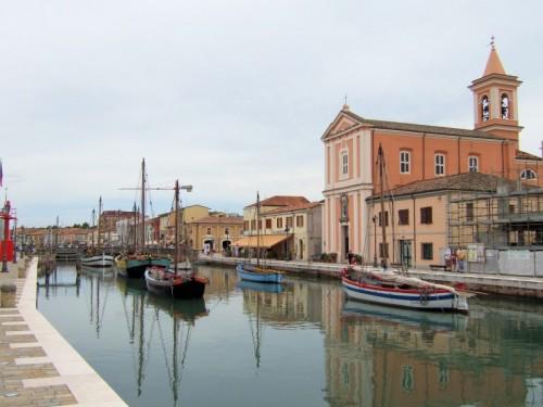Cesenatico - Cesenatico ed il museo della marineria.