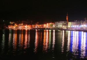 Mergozzo by night
