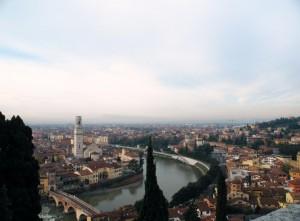 panorama di Verona 3