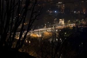 """Panorama ponte """"Umberto I"""" e """"Arco"""" - Torino"""