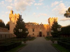 Castello di Oliveto: facciata principale