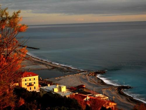 Ventimiglia - tramonto a ventimiglia