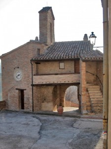 La porta d'accesso al borgo